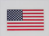 UNITED STATES OF AMERICA FLAG  ( USA ) 3D EFFECT FRIDGE MAGNET